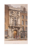 Mercers' Hall, London, 1815 Giclee Print by George Shepherd