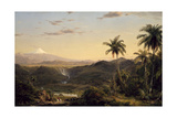 Cotopaxi, 1855 Giclee Print by Frederic Edwin Church