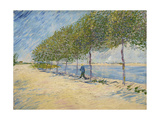 Along the Seine, 1887 Giclee Print by Vincent van Gogh