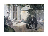 The Good Bourgeois, 1893 Giclee Print by Henri Brispot