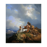 Armatoles Near Athens, 1829 Giclee Print by Peter Von Hess