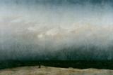 Caspar David Friedrich - The Monk by the Sea, 1808-1810 Digitálně vytištěná reprodukce