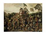 St. Martin's Day Kermis, 1598 Giclee Print by Pieter Balten
