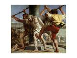 Christ at the Column, 1772 Giclée-tryk af Giandomenico Tiepolo