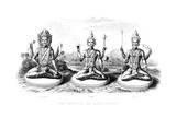 The Hindu Trinity, C1800 Giclee Print