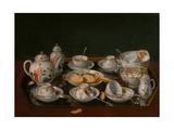 Tea Set, 1781-1783 Giclée-Druck von Jean-Étienne Liotard