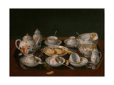 Tea Set, 1781-1783 Giclee Print by Jean-Étienne Liotard