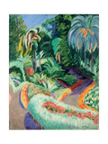 Garden, Ca 1913-1919 Giclee Print by Francisco Iturrino