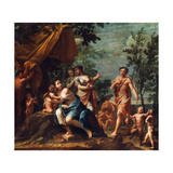 Apollo with Three Graces, Venus, Cupid and Pan Giclee Print by Marcantonio Franceschini