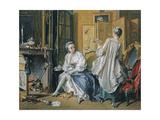 La Toilette, 1742 Giclee Print by François Boucher