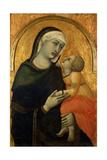 Madonna with Child Giclée-tryk af Pietro Lorenzetti