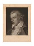 Portrait of Friedrich Von Schiller Giclee Print by Adam Arnst