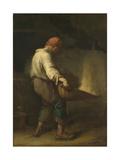 The Winnower, C. 1847 Giclee Print by Jean-François Millet