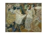 Masquerade, 1913-1914 Giclee Print by Boris Dmitryevich Grigoriev