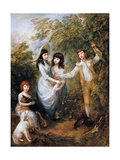 The Marsham Children, 1787 Giclee Print by Thomas Gainsborough