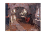 In a Country House, 1914 Giclee Print by Abram Yefimovich Arkhipov
