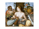 Pomona, 1565 Giclee Print by Frans Floris the Elder