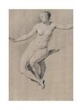 Seated Female Nude Giclée-Druck von Adriaen van de Velde