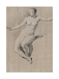 Seated Female Nude Giclee Print by Adriaen van de Velde