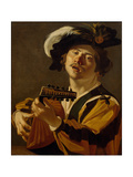 The Lute Player, 1622 Giclee Print