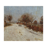 The Road to Gelmeroda, 1893 Giclee Print by Christian Rohlfs