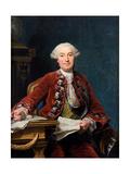 Ulrik Scheffer (1716-179), 1763 Giclee Print by Alexander Roslin