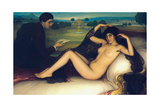 Venus of Poetry, 1913 Giclee Print by Julio Romero de Torres