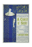 Avenue Theater, a Comedy of Sighs!, 1894 Giclee Print by Aubrey Beardsley