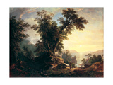 The Indian's Vespers, 1847 Giclee Print by Asher Brown Durand