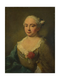 Caterina Penza, Ca 1760 Giclee Print by Alessandro Longhi