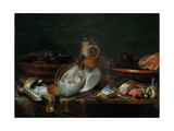 Still Life, Early 17th C Giclee Print by Alexander Adriaenssen