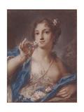 Spring, 1720S Giclée-tryk af Rosalba Giovanna Carriera