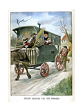 Child Kidnapped by Gypsies, 1902 Giclee Print