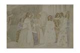 Requiem, 1905 Giclee Print by Viktor Elpidiforovich Borisov-musatov