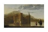 Ubbergen Castle, C. 1655 Giclee Print by Aelbert Cuyp