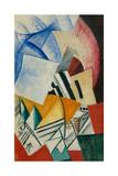 The Cupboard, 1918 Giclée-trykk av Olga Vladimirovna Rozanova