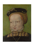 Portrait of a Girl, Ca 1545 Giclee Print by Jakob Seisenegger
