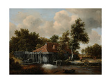 A Watermill, Ca 1665 Giclee Print by Meindert Hobbema
