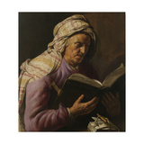 Old Woman Reading, 1626-1633 Giclee Print by Jan Lievens