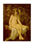 Little Bather, 1849 Giclee Print by Thomas Couture