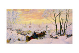 Shrovetide, 1916 Giclee Print by Boris Michaylovich Kustodiev
