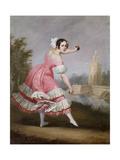 A Bolero Dancer Giclee Print by Antonio Cabral Bejarano