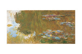 The Water Lily Pond, Ca 1917-1919 Giclee Print by Claude Monet