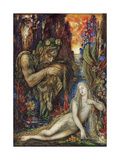 Galathea, Ca 1896 Giclee Print by Gustave Moreau