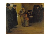 Legal Assistance, 1900s-1910S Giclee Print by Jean-Louis Forain