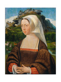 Portrait of a Woman, Ca 1530 Giclee Print by Jan Mostaert