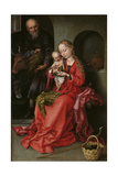 The Holy Family, 1480-1490 Giclee Print by Martin Schongauer