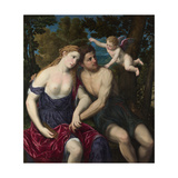 A Pair of Lovers, 1556-1559 Giclee Print by Paris Bordone