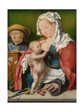 The Holy Family, C. 1520 Giclée-Druck von Joos Van Cleve