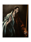 Saint Thomas the Apostle Lámina giclée por  El Greco